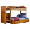 Discovery World Furniture Weston Twin over Full Bunk Bed