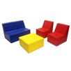 ECR4kids Softzone® 4 Piece Youth Seating Set