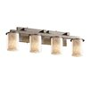 Justice Design Group Clouds Dakota 4 Light Bath Vanity Light