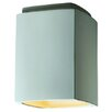 Justice Design Group Radiance Rectangular Flush Mount