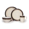 Mikasa Gourmet Basics Bailey 16 Piece Dinnerware Set