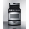 Summit Appliance 3 Cu. Ft. Electric Range in Stainless Steel
