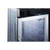 Summit Appliance 66 Bottle Dual Zone Built-In Wine Refrigerator