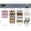 Summit Appliance 34 Bottle Single Zone Convertible Wine Refrigerator