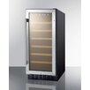 Summit Appliance 33 Bottle Single Zone Convertible Wine Refrigerator