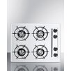 """Summit Appliance 24"""" Gas Cooktop with 4 Burners"""