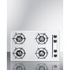 """Summit Appliance 30"""" Gas Cooktop with 4 Burners"""