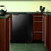 Summit Appliance 6.1 cu. ft. Undercounter Compact Refrigerator with Freezer