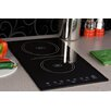 "Summit Appliance 11.38"" Electric Induction Cooktop with 2 Burners including 7 Piece Complimentary Cookware Set"