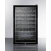 Summit Appliance Wine Cellar 40 Bottle Single Zone Freestanding Wine Refrigerator