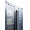 Summit Appliance 33 Bottle Dual Zone Freestanding Wine Refrigerator