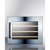 Summit Appliance 28 Bottle Single Zone Built-In Wine Refrigerator