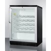 Summit Appliance 26 Bottle Single Zone Freestanding Wine Refrigerator