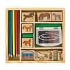 Melissa & Doug Horses Stamp Set Arts & Crafts Kit