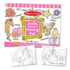 Melissa & Doug Jumbo Coloring Pad in Pink (Set of 2)