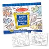 Melissa & Doug Jumbo Coloring Pad in Blue (Set of 2)