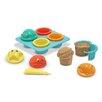 Melissa & Doug Seaside Sidekicks Sand Cupcake Set