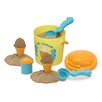 Melissa & Doug Speck Seahorse 7 Piece Sand Ice Cream Set