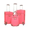 Travelers Club Paradise 3 Piece Luggage Set