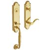 Baldwin Manchester Dummy Entrance Leverset, Exterior Handle Only