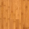 "Hawa Bamboo 3-3/4"" Solid Bamboo Hardwood Flooring in Carbonized Matte"
