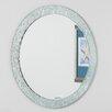 Decor Wonderland Molten Round Wall Mirror