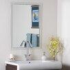 Decor Wonderland Frameless Kaleb Wall Mirror