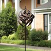 Copper Spiral Wind Spinner - American Furniture Classics Garden Statues and Outdoor Accents