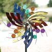 Polka Dot Plume Wind Spinner - American Furniture Classics Garden Statues and Outdoor Accents