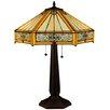 """Meyda Tiffany Peaches 24.5"""" Table Lamp"""