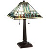 "Meyda Tiffany Prairie Peaks 23"" Table Lamp"