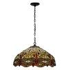 Meyda Tiffany Tiffany Hanginghead Dragonfly 3 Light Bowl Pendant