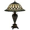 """Meyda Tiffany Aello 28"""" Table Lamp with Bowl Shade"""