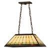 Meyda Tiffany Greenbriar Oak Scallop 2 Light Pendant