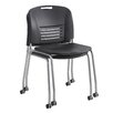Safco Vy Armless Stacking Chair (Set of 2)