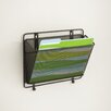 Safco Onxy Wall Mounted Magazine Rack