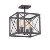 Designers Fountain High Line 4 Light Semi Flush Mount