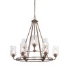 Designers Fountain Gramercy Park 9 Light Candle Chandelier