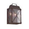 Designers Fountain Colfax 2 Light Outdoor Wall Lantern