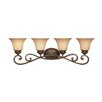 Designers Fountain Mendocino 4 Light Vanity Light