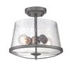 Designers Fountain Darby 2 Light Semi Flush Mount