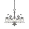 Designers Fountain Darby 5 Light Candle Chandelier