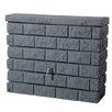 Exaco GRAF 105 gal. Brick Wall Rain Barrel