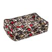 Jax & Bones Vines Lounge Bolster Pet Bed