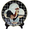 AA Importing Rooster Plate