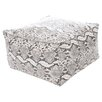 Kaikoo Ltd Mock Snake Skin Bean Bag Chair