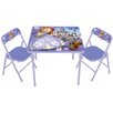 Kids Only Sofia The First Kids Square Activity Table Set