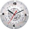 "Maples Clock 6"" Moving Gear Wall / Desktop Clock"