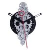 """Maples Clock 20"""" x 11"""" Large Moving Gear Wall Clock"""