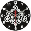 "Maples Clock 12"" Moving Gear Wall Clock"